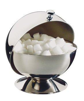 Zuckerkugel mit Rolldeckel