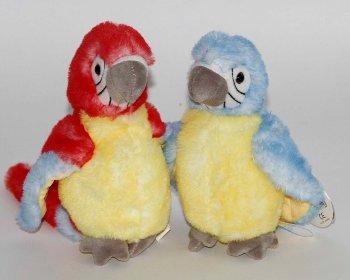 Plüsch-Papagei