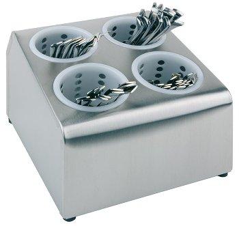 Besteckbehälter mit Köchern