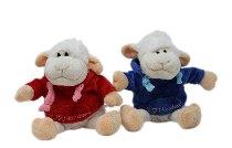 Plüsch-Schaf Wolle Pullover
