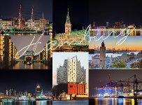 Fotomagnet Hamburg