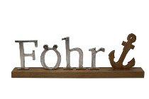 """Metallbuchstaben """"Föhr"""""""