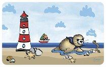 Brettchen Seehund Flapsch