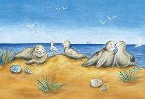 Tischset Seehundbank